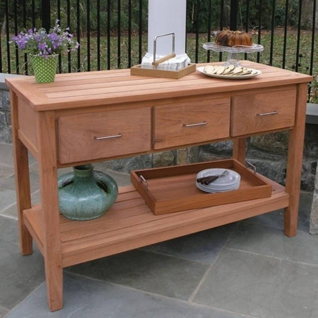 Sideboard Outdoor Sideboards And Buffets 1000 Ideas About Outdoor With Outdoor Sideboards (View 9 of 15)