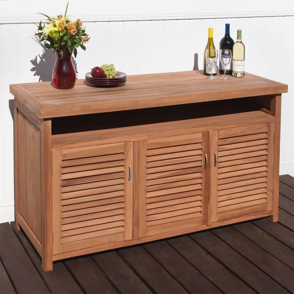 Sideboard Outdoor Sideboards And Buffets: Outdoor Sideboards And With Regard To Outdoor Sideboards (View 5 of 15)