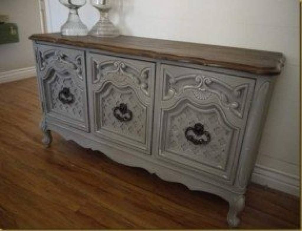 Sideboard Painted Sideboards And Buffets Foter For Hand Painted regarding Hand Painted Sideboards (Image 12 of 15)