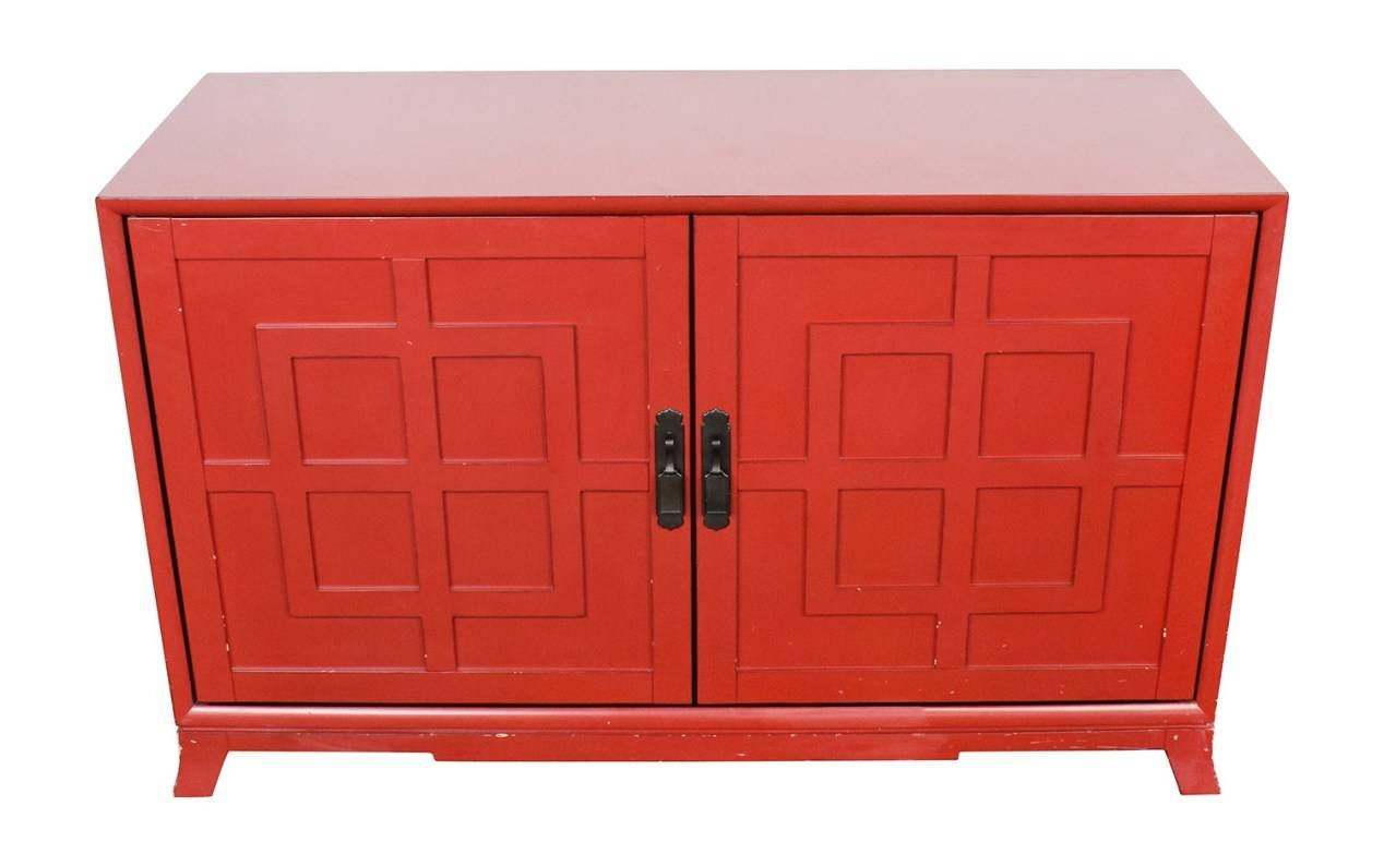 Sideboard : Red Sideboards And Buffets Ravishing Kitchen regarding Red Sideboards Buffets (Image 7 of 15)