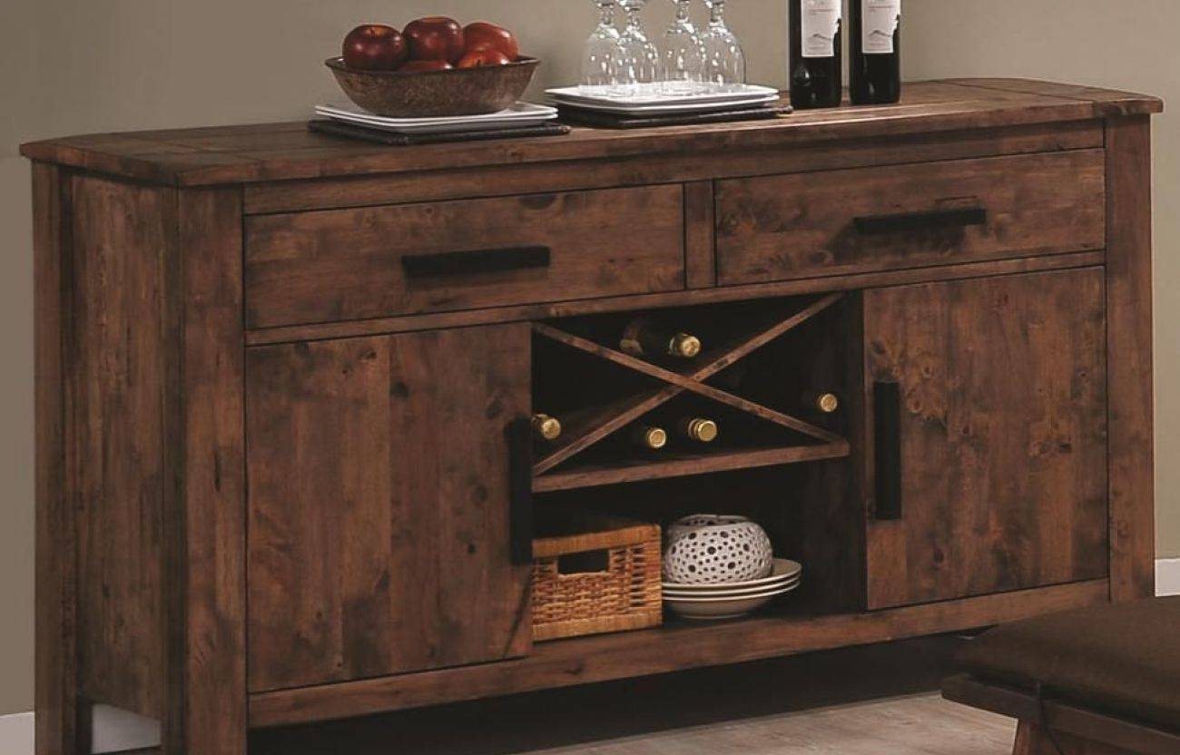 Sideboard : Rustic Dining Room Buffet Rustic Farmhouse Sideboard in Farmhouse Sideboards (Image 9 of 15)