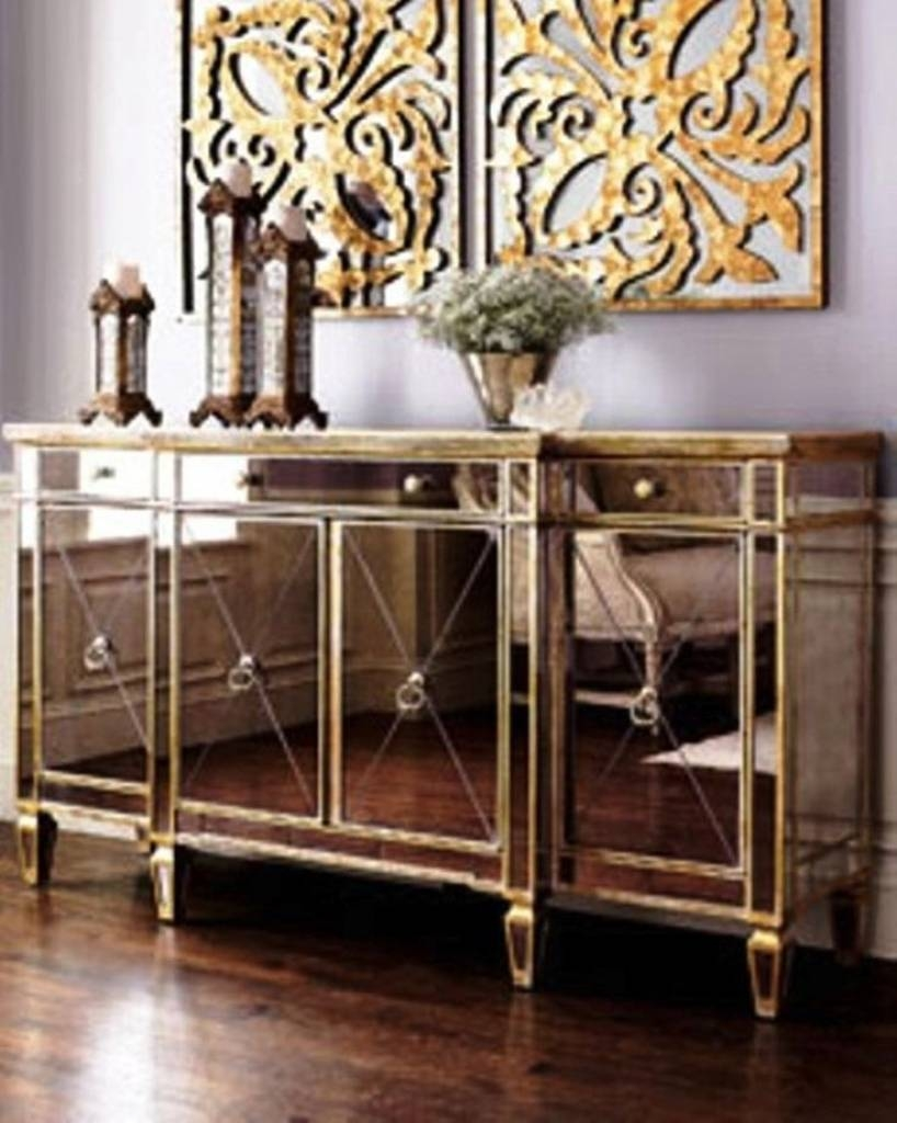 Featured Photo of Glass Buffet Table Sideboards