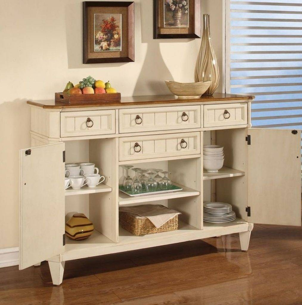 Sideboard Sideboards: Astounding Kitchen Hutches And Sideboards pertaining to Country Sideboards And Hutches (Image 13 of 15)