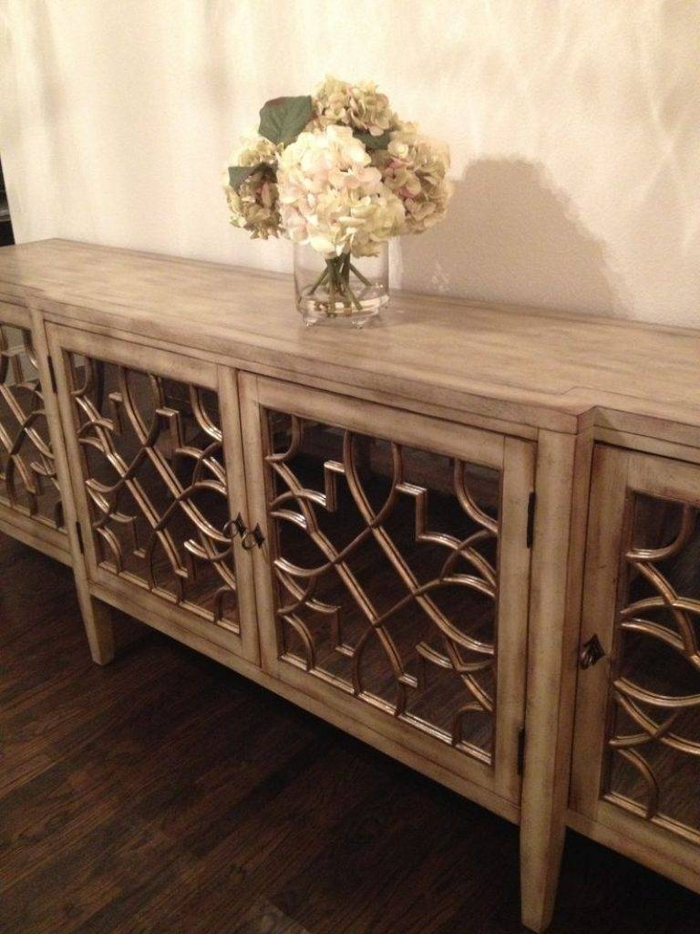 Sideboard Sideboards. Interesting Mirrored Buffet Server: Mirrored with regard to Buffet Servers And Sideboards (Image 11 of 15)