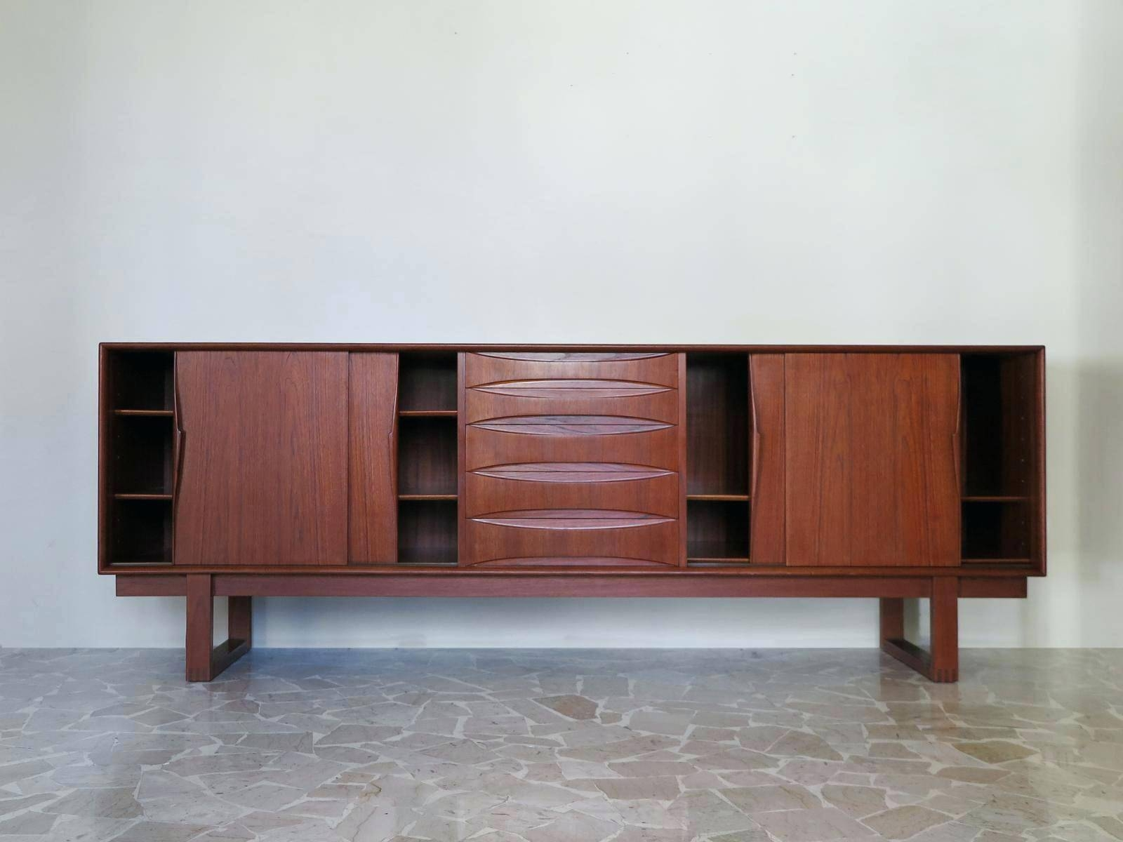 Sideboard Vintage Robert Heritage Rosewood Heals Retro Danish regarding 50S Sideboards (Image 11 of 15)