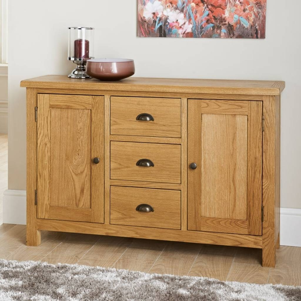Sideboard Wiltshire Wide Sideboard | Furniture, Oak Furniture regarding Cream and Brown Sideboards (Image 11 of 15)