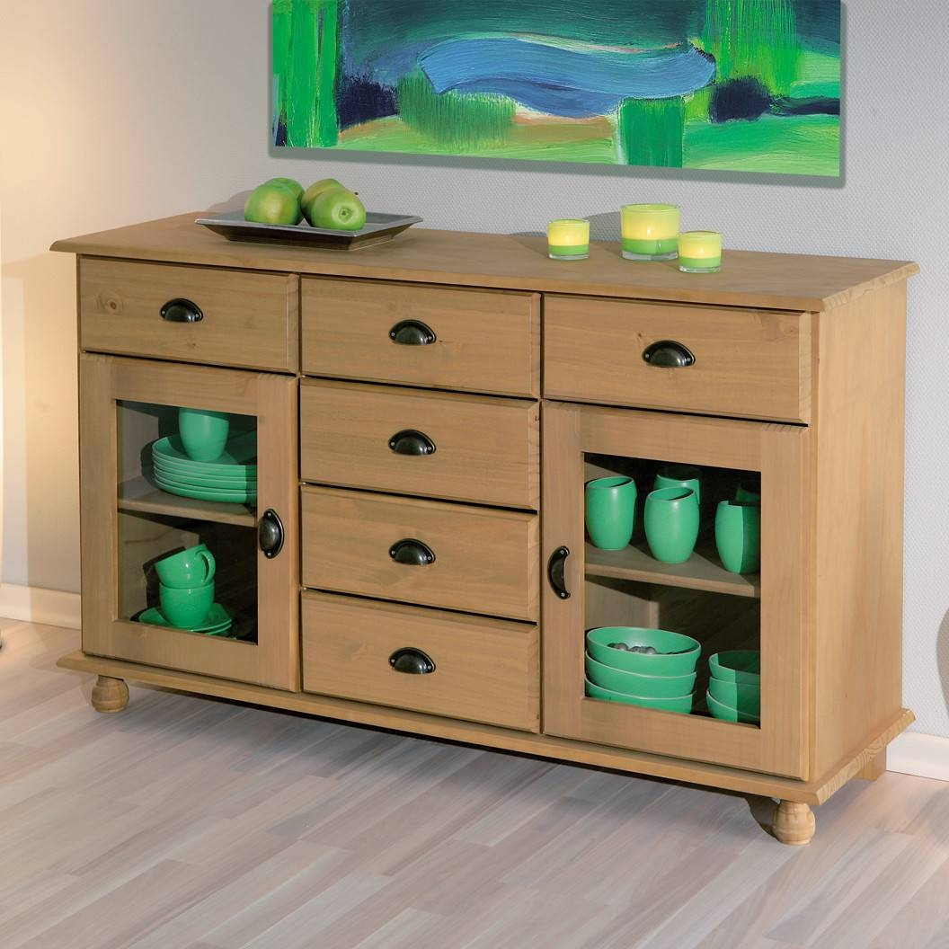 Sideboard With Glass Door - Peytonmeyer inside Sideboards With Glass Doors and Drawers (Image 10 of 15)