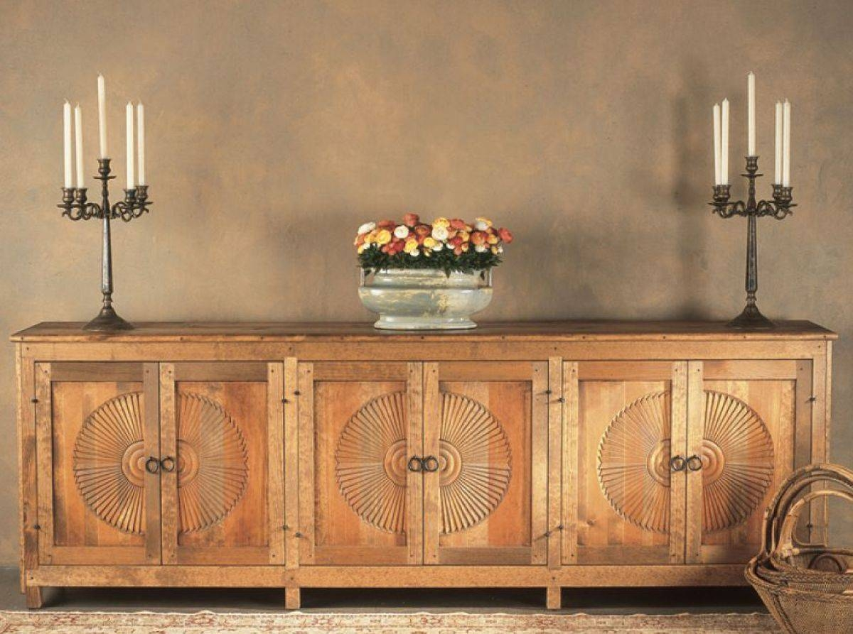 Sideboards: Amusing Sideboards And Credenzas Antique Buffet Table within Credenzas And Sideboards (Image 14 of 15)