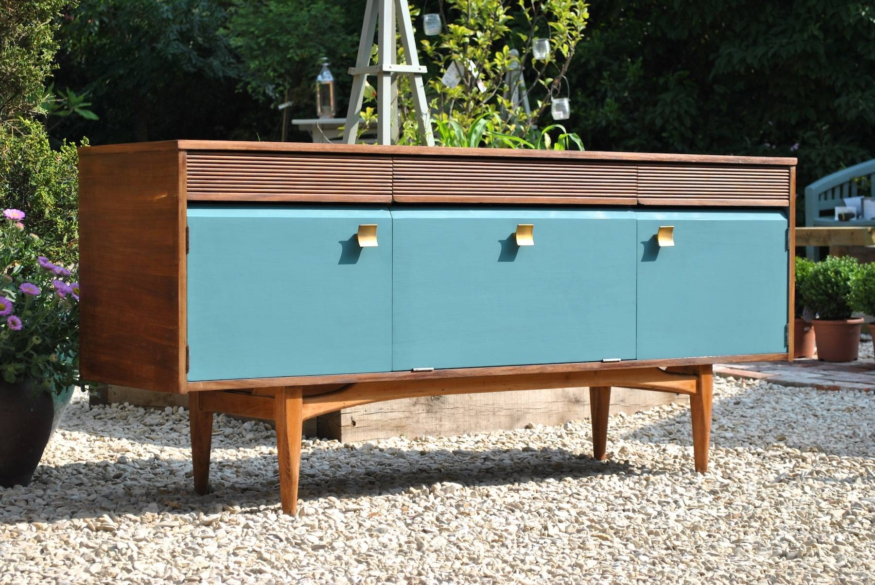 Sideboards. Awesome Mid Century Sideboard: Mid-Century-Sideboard regarding Mid Century Sideboards (Image 14 of 15)