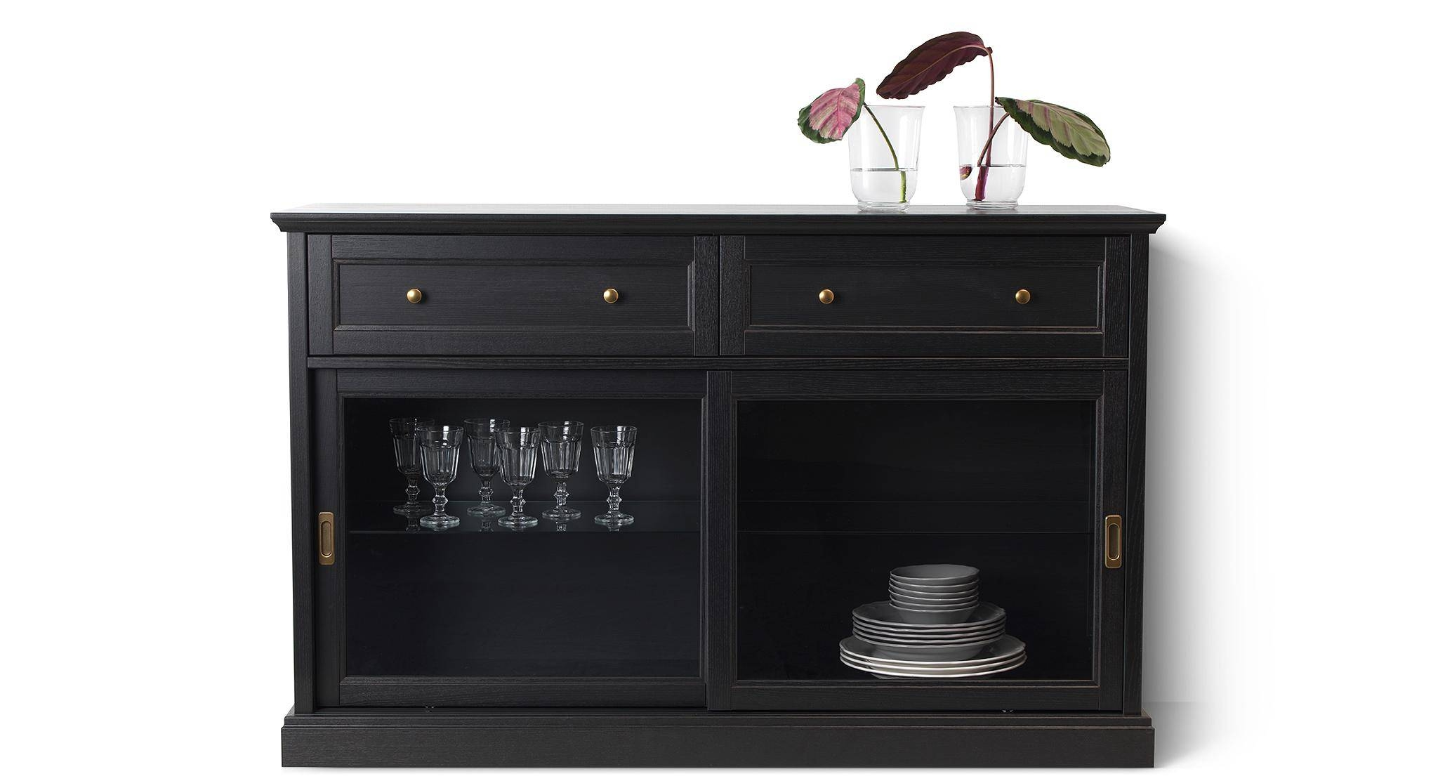 View Photos Of Glass Door Buffet Sideboards Showing 8 Of 15 Photos