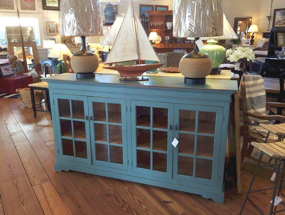 15 Photos Glass Door Buffet Sideboards