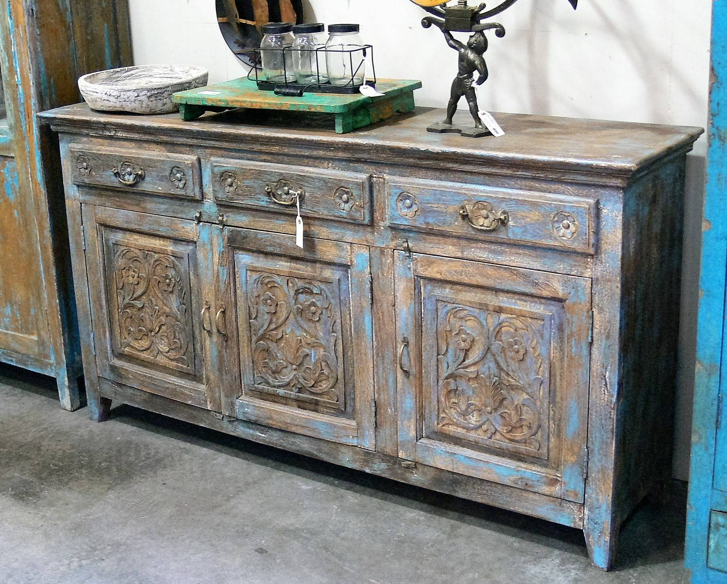 Sideboards & Buffets » Market Imports – Home, Patio, Antiques Throughout Sideboards And Buffets (View 12 of 15)