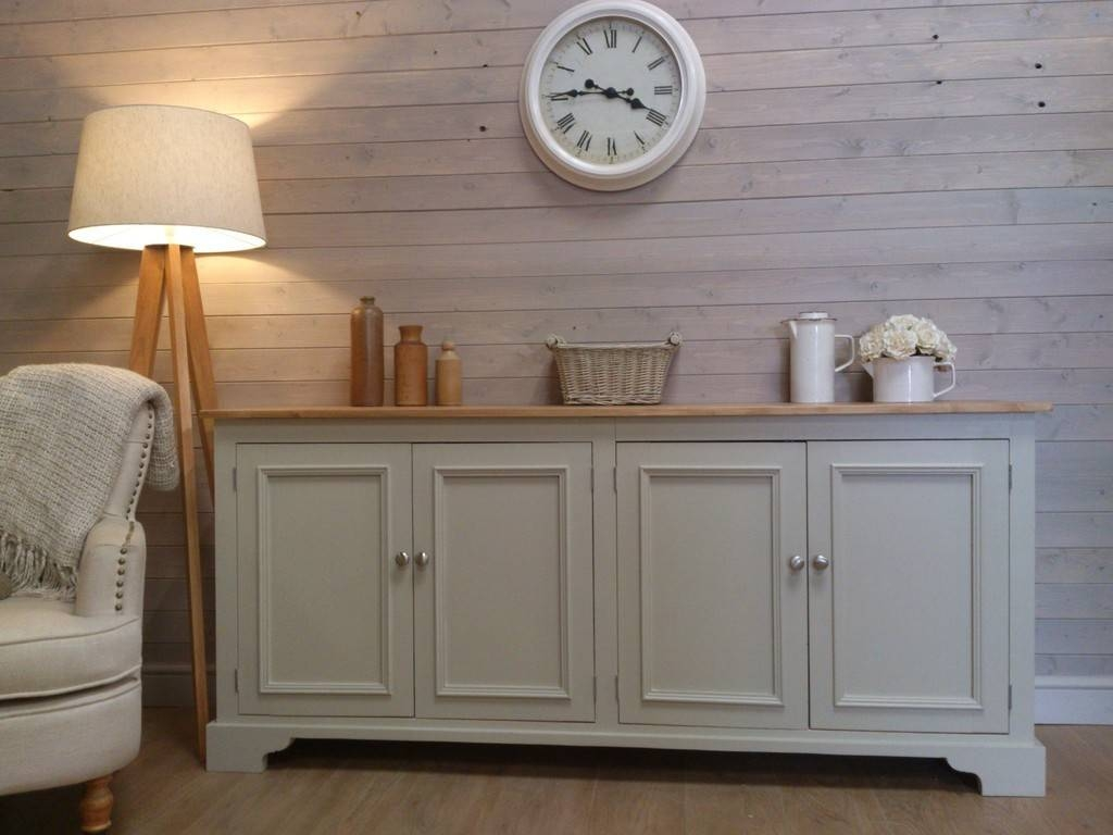 Sideboards: Extraordinary Distressed Wood Sideboard Whitewash with Painted Sideboards and Buffets (Image 13 of 15)