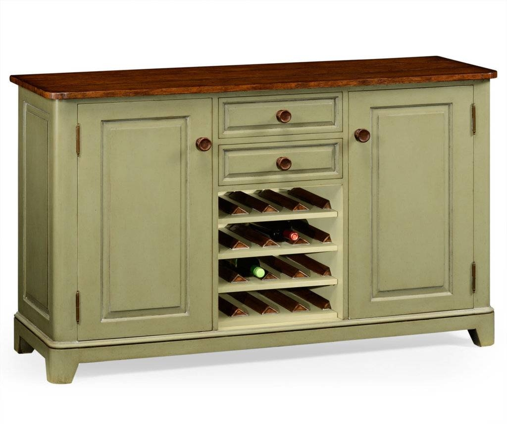 Sideboards: Glamorous Sideboard With Wine Storage Sideboard With intended for Wine Sideboards (Image 13 of 15)