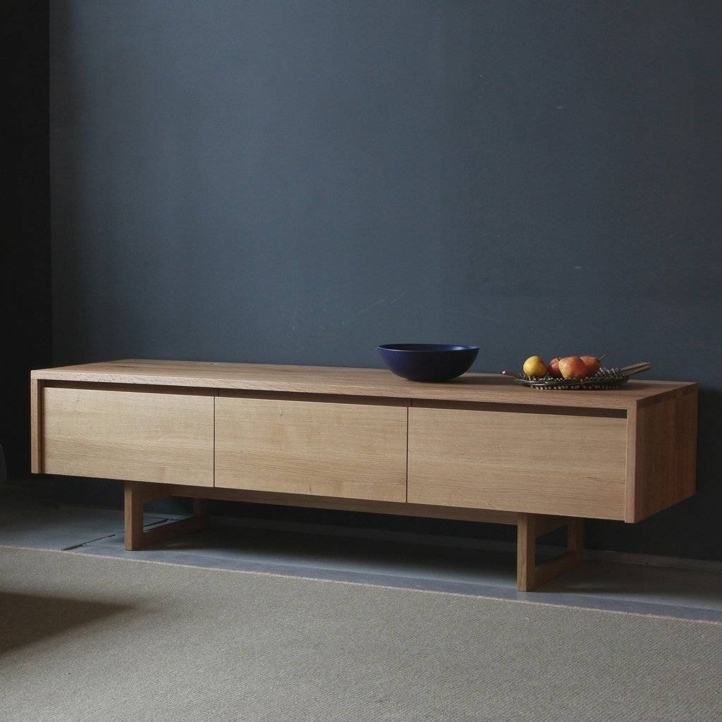 Sideboards: Interesting Low Sideboard Oak Sideboards, Small regarding Small Low Sideboards (Image 15 of 15)