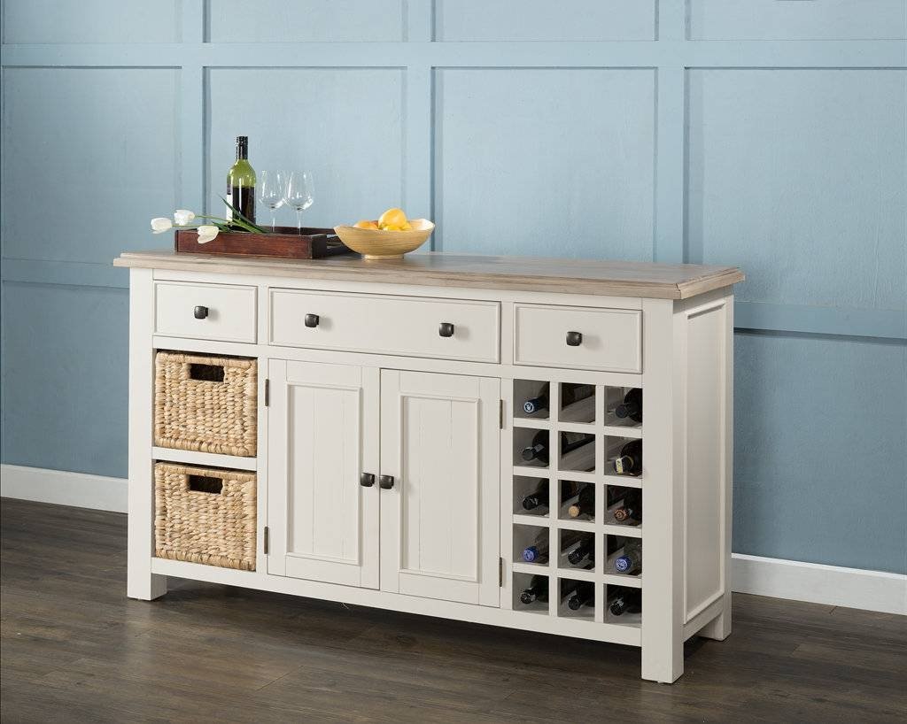 Sideboards: Marvellous Sideboard With Wine Rack Wine Rack Buffet in Wine Sideboards (Image 14 of 15)