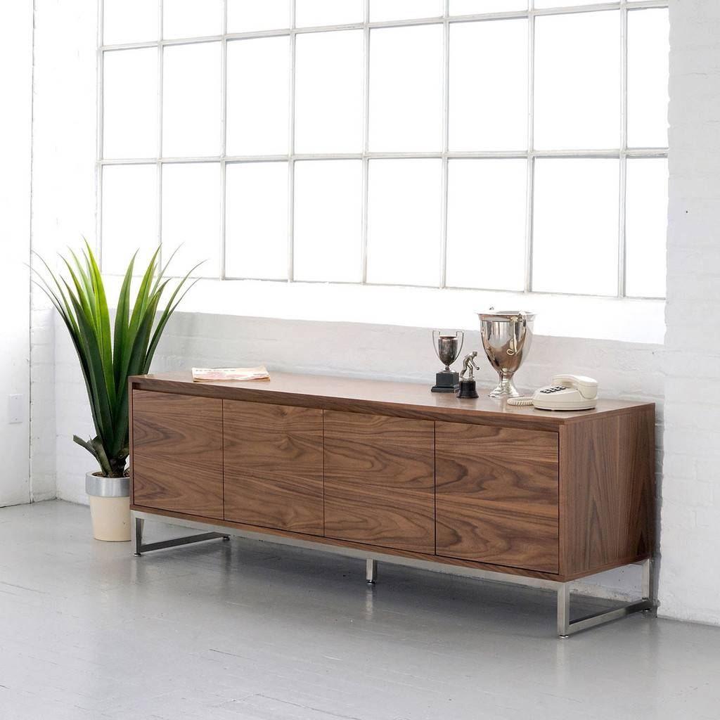 Sideboards: Stunning Credenza Modern Modern Credenza Furniture with regard to Modern Sideboards And Buffets (Image 14 of 15)