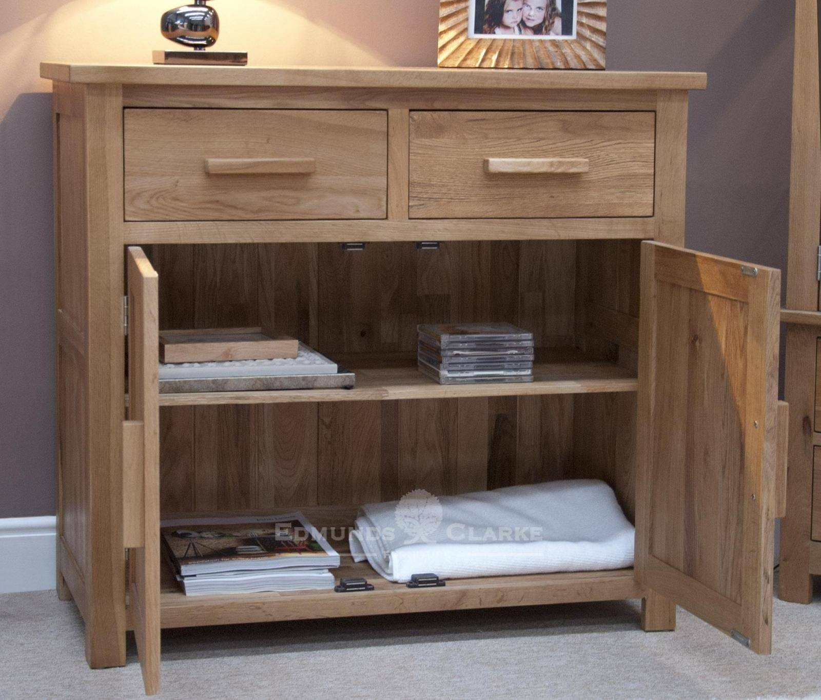Small Sideboard - Oak Sideboards For The Kitchen, Dining Room Or inside Lounge Sideboards (Image 14 of 15)