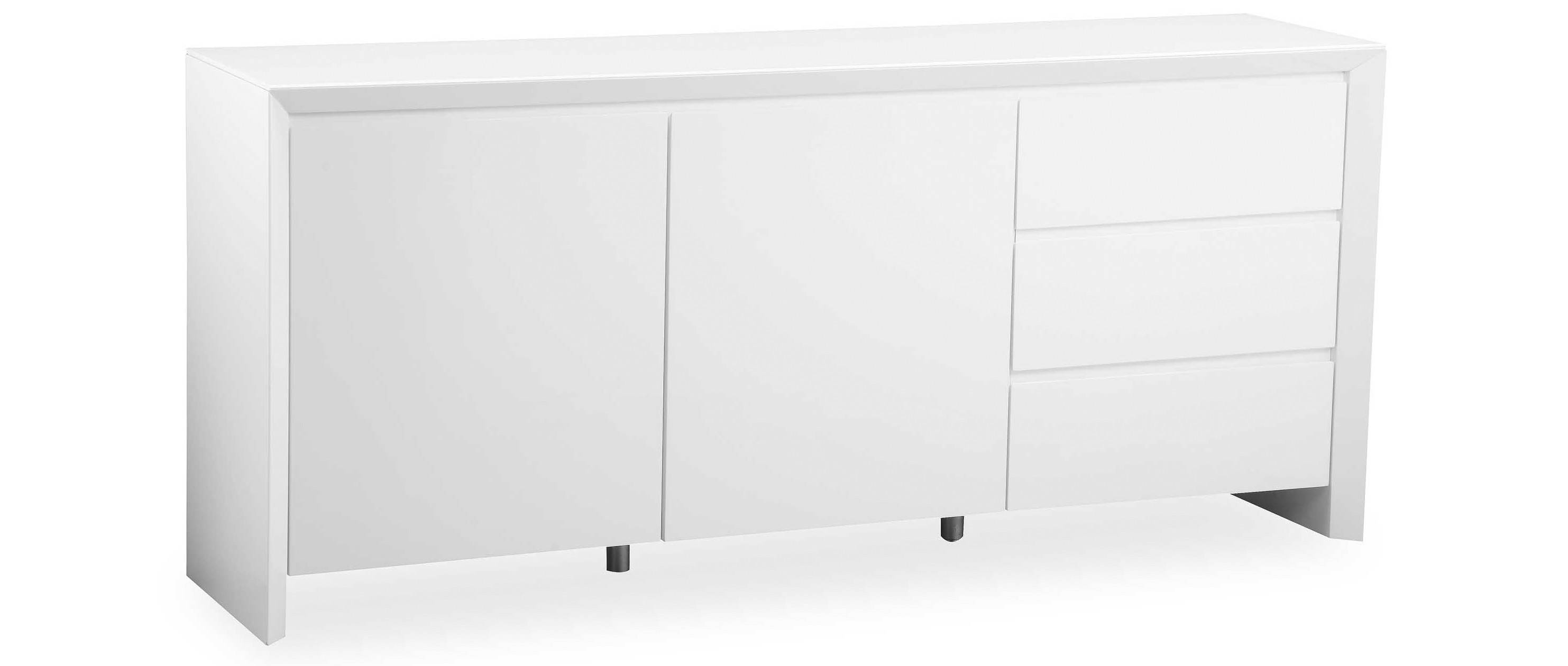 Soho – Extra Large Sideboard – White High Gloss With Regard To Extra Deep Sideboards (View 13 of 15)