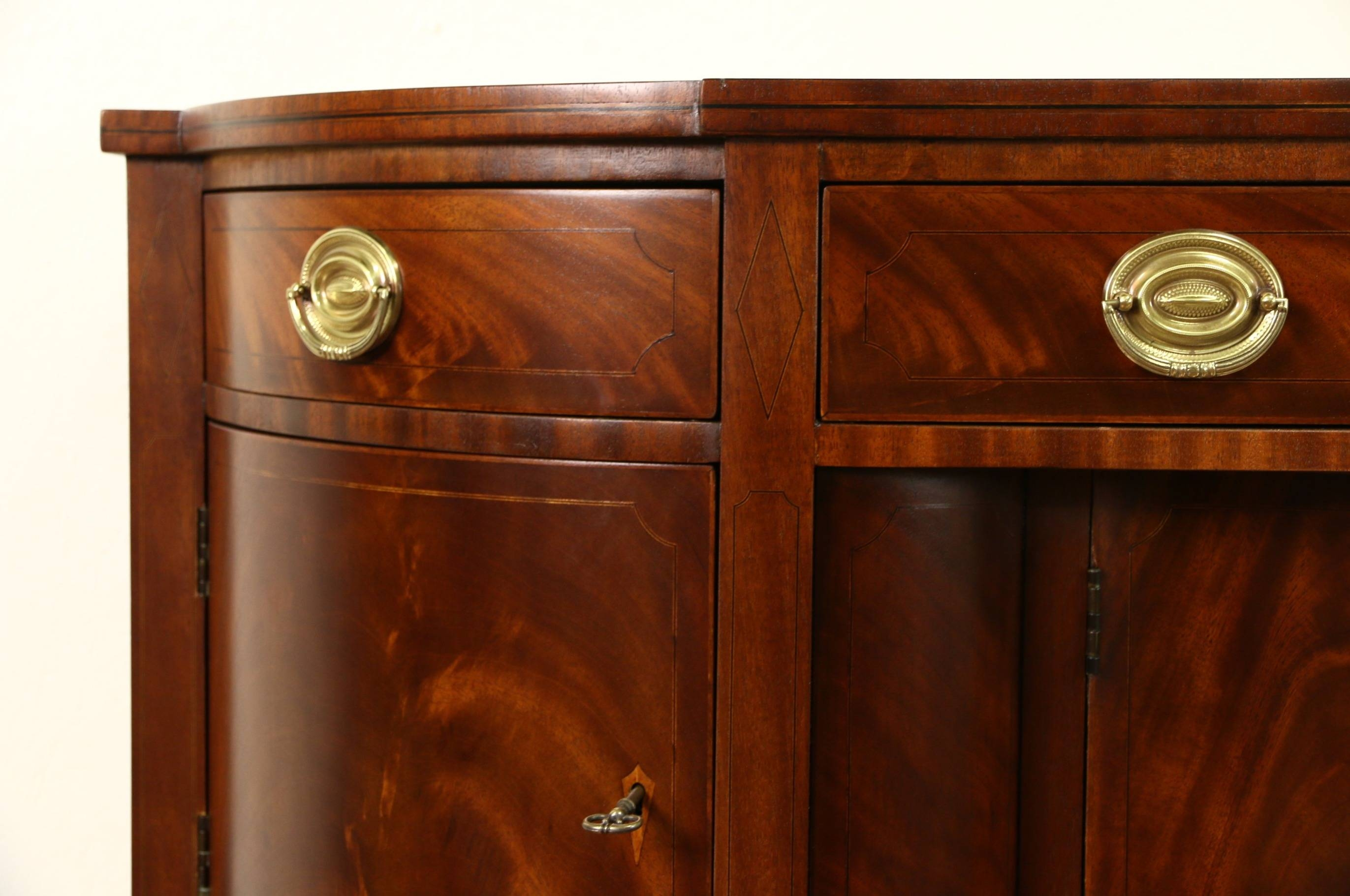 Sold – Henredon Natchez Collection Vintage Mahogany Sideboard Pertaining To Vintage Sideboards And Buffets (View 8 of 15)