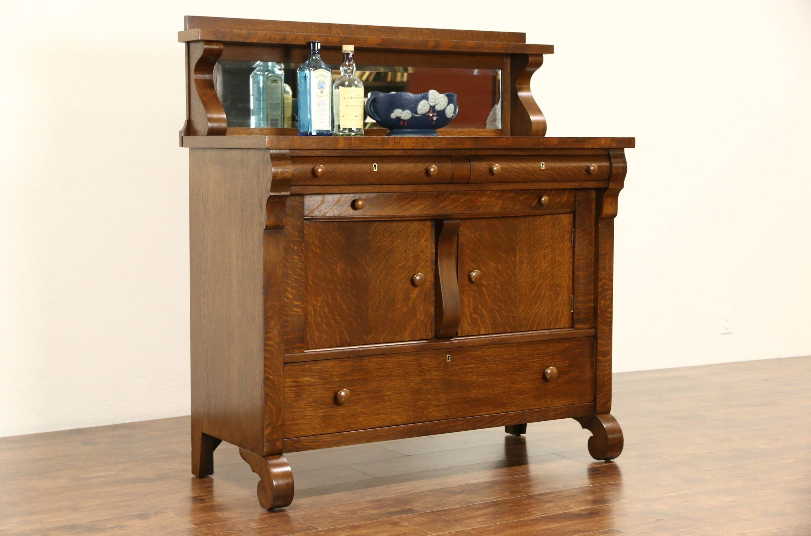 Featured Photo of Antique Sideboards With Mirror