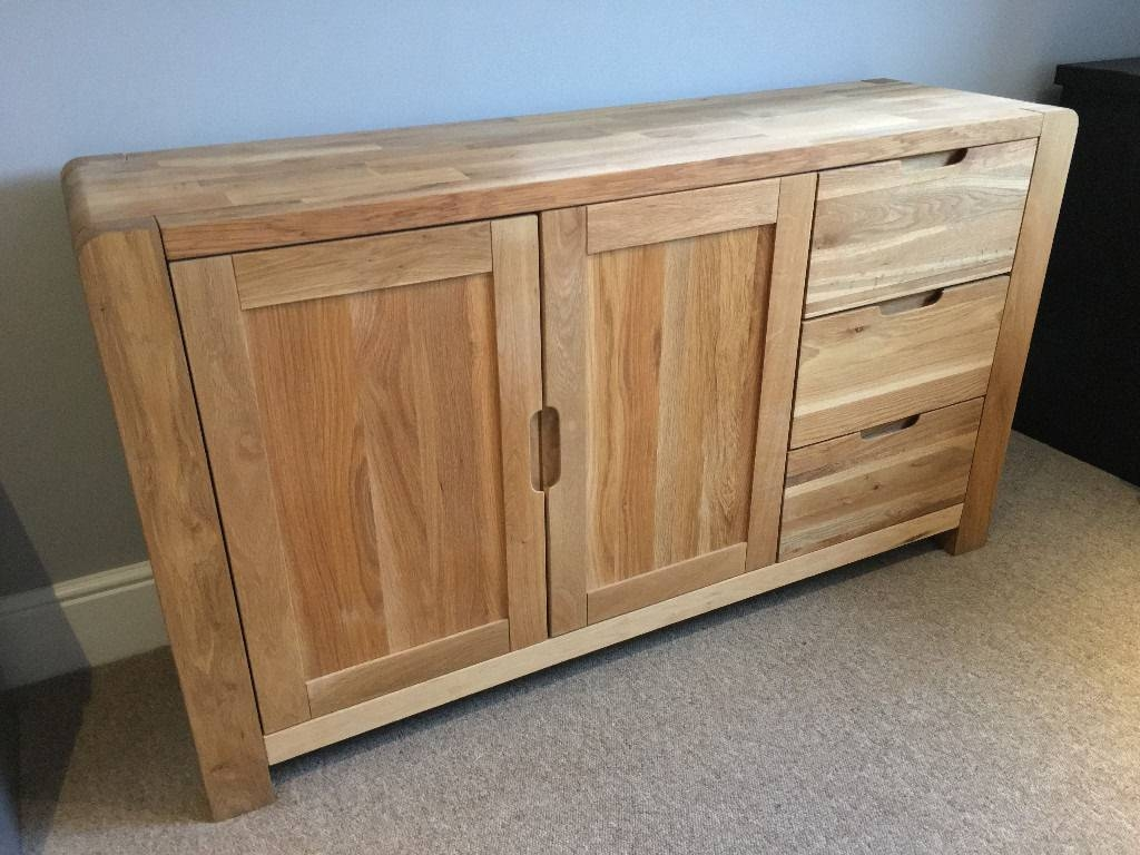 Solid Oak Sideboard, Harveys Portsmore Range | In Yeovil, Somerset with Solid Oak Sideboards (Image 14 of 15)