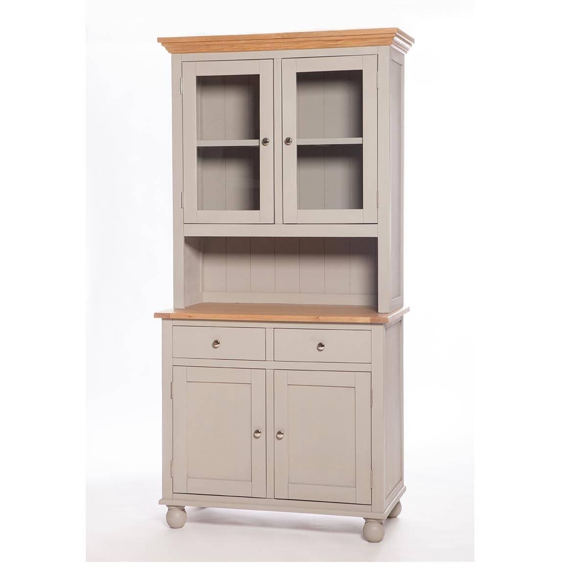 Somerset Small Kitchen Dresser | Woodlands Furniture Inside Narrow Kitchen Sideboards (View 8 of 15)