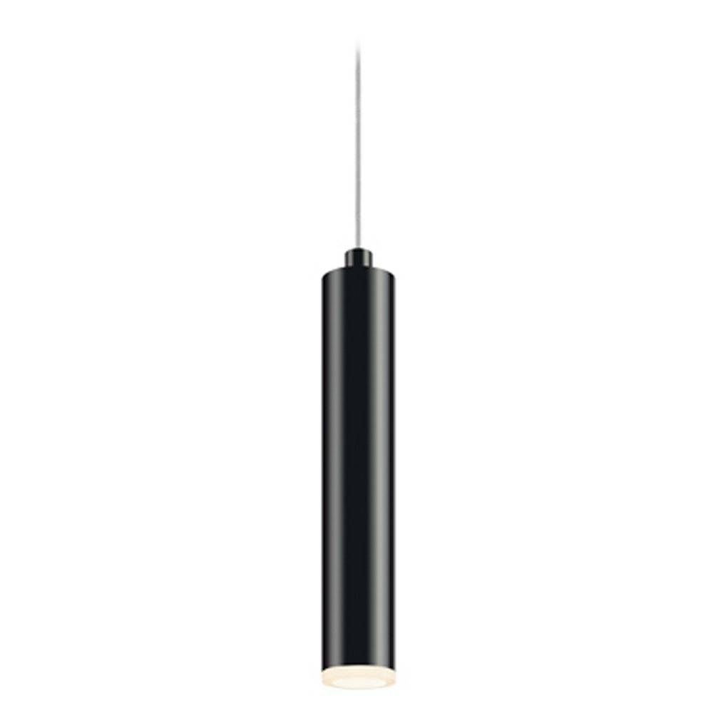 Sonneman Lighting Micro Satin Black Led Mini-Pendant Light With inside Black Mini Pendant Lights (Image 14 of 15)