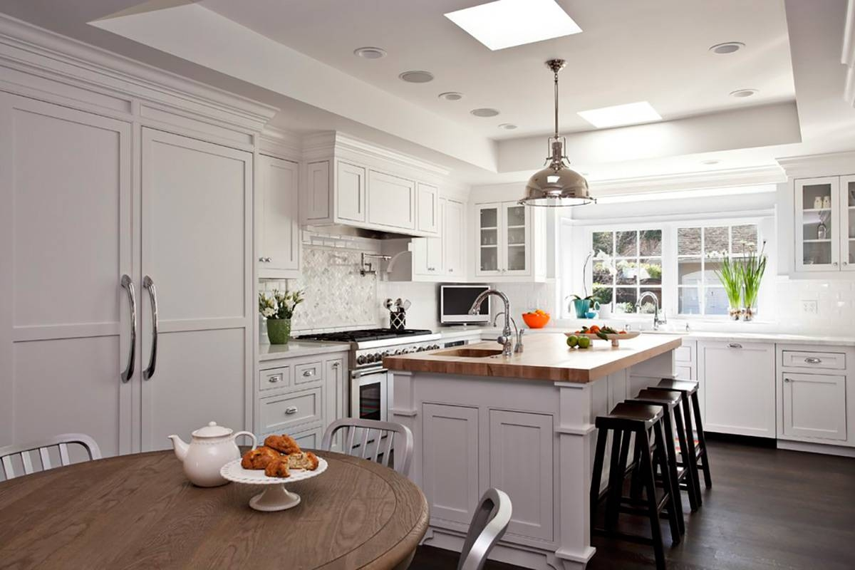 Splendid Big Space Kitchen Home Decoration Complete Lovely Inside Silver Kitchen Pendant Lighting (View 8 of 15)