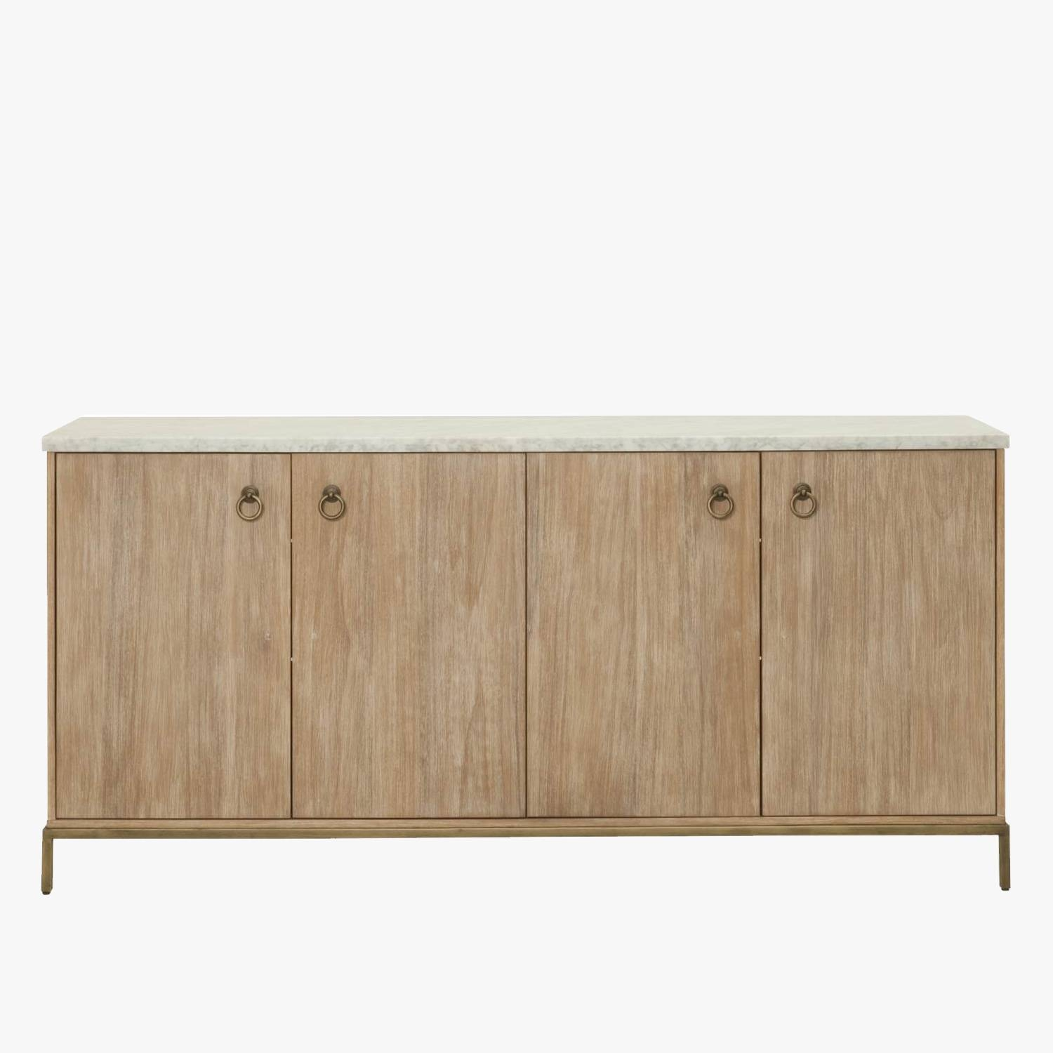 Storage - Cabinets, Shelving And Sideboards - Dear Keaton with Marble Top Sideboards (Image 13 of 15)