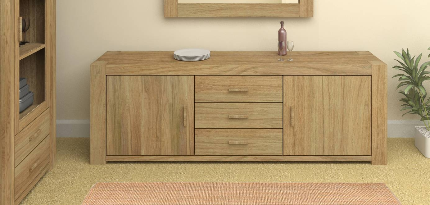 Styling & Storage: Oak Sideboards | Oak Furniture Company within Storage Sideboards (Image 13 of 15)