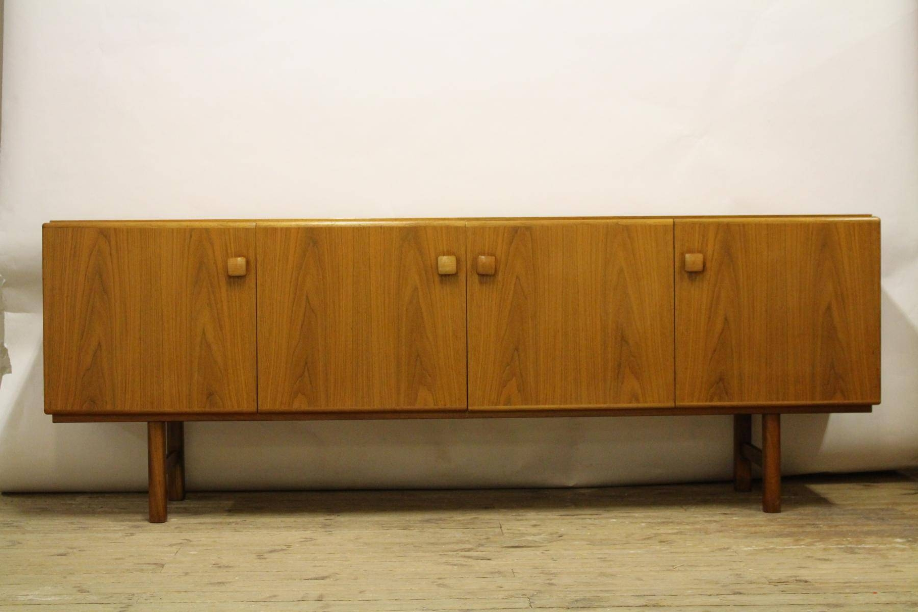 Swedish Walnut Sideboard From Ab Carlsson, 1960s For Sale At Pamono Intended For Walnut Sideboards (View 11 of 15)