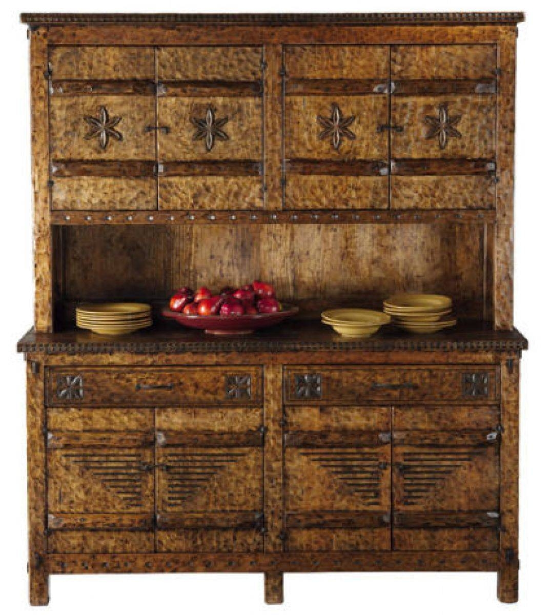 Tecolote Sideboard And Hutch: Southwest Furniture, Santa Fe Style Regarding Sideboards With Hutch (View 14 of 15)