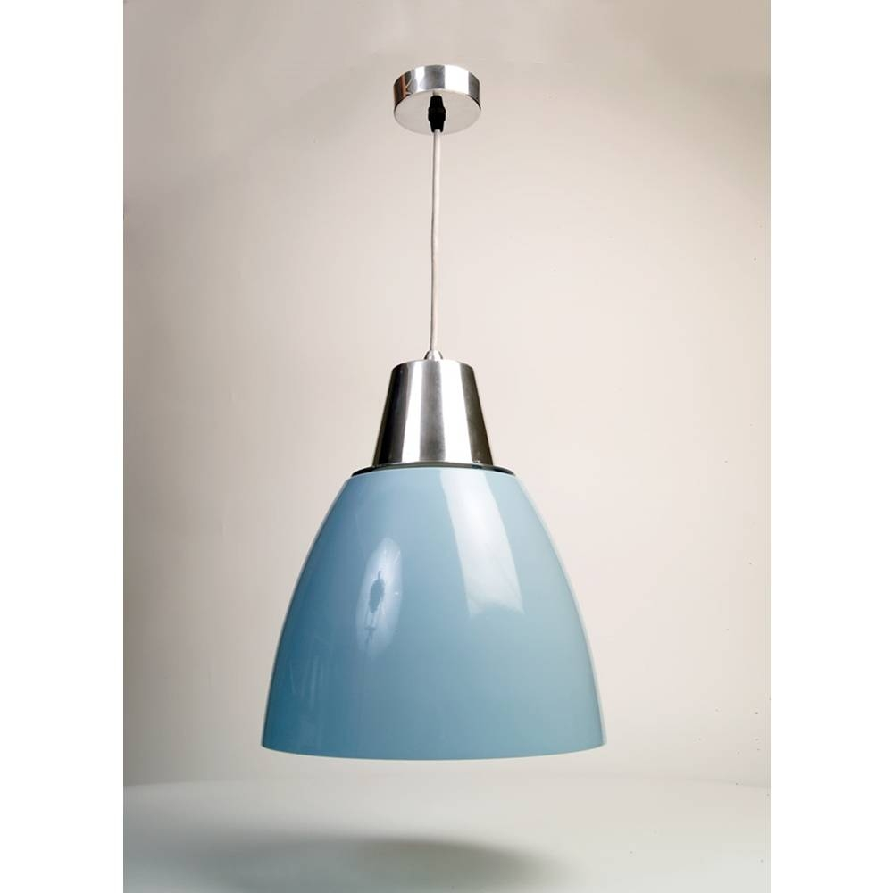 The Noah Blue Kitchen Pendant Light with regard to Blue Pendant Lights (Image 15 of 15)