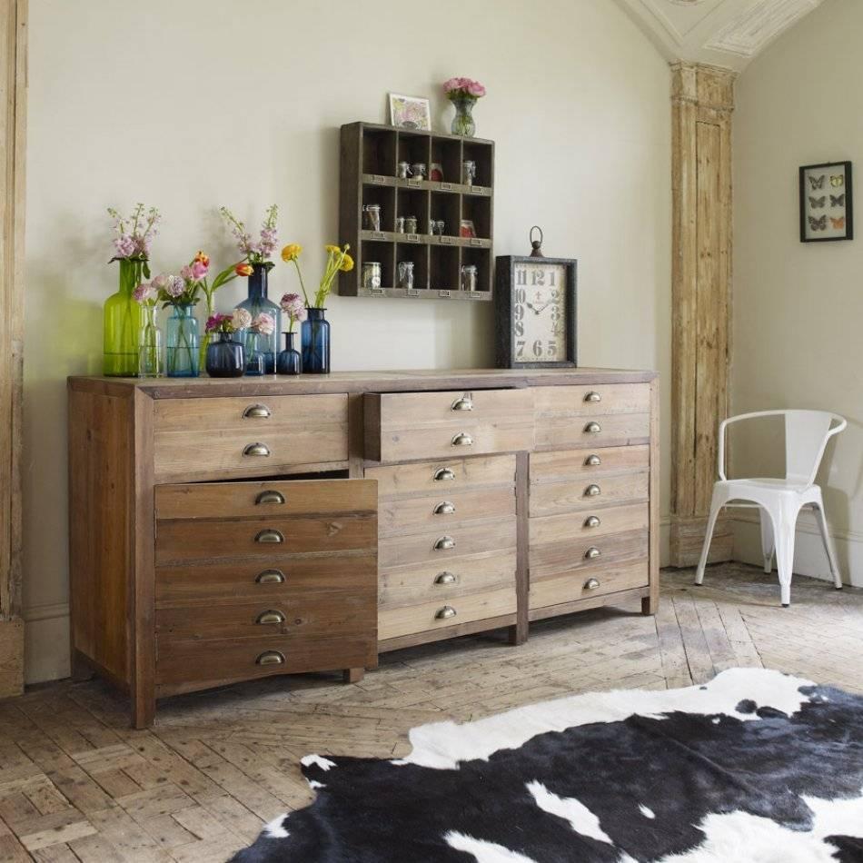 Three Door Larkin Pine Sideboard | Sideboards & Cabinets | Graham throughout Green Sideboards (Image 15 of 15)