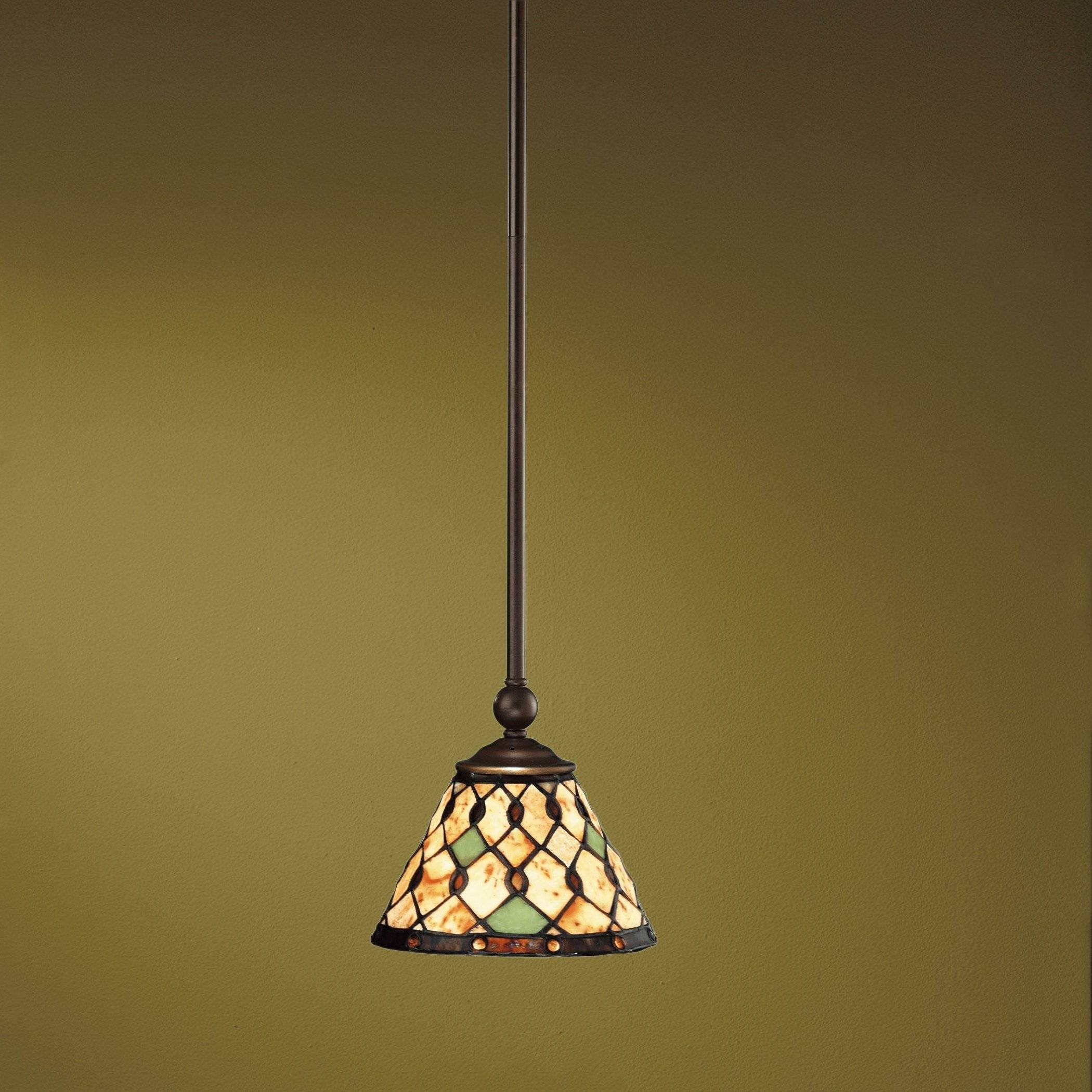 Tiffany Style Hanging Light Fixture, Tiffany Glass Hanging Lamps Pertaining To Tiffany Style Pendant Light Fixtures (View 11 of 15)