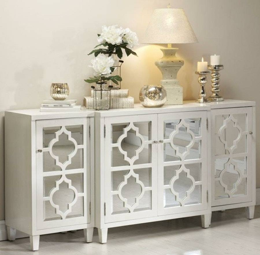 Top Glass Buffet Table Sideboard New Decoration How To Clean Pics Within Glass Buffet Table Sideboards (View 4 of 15)