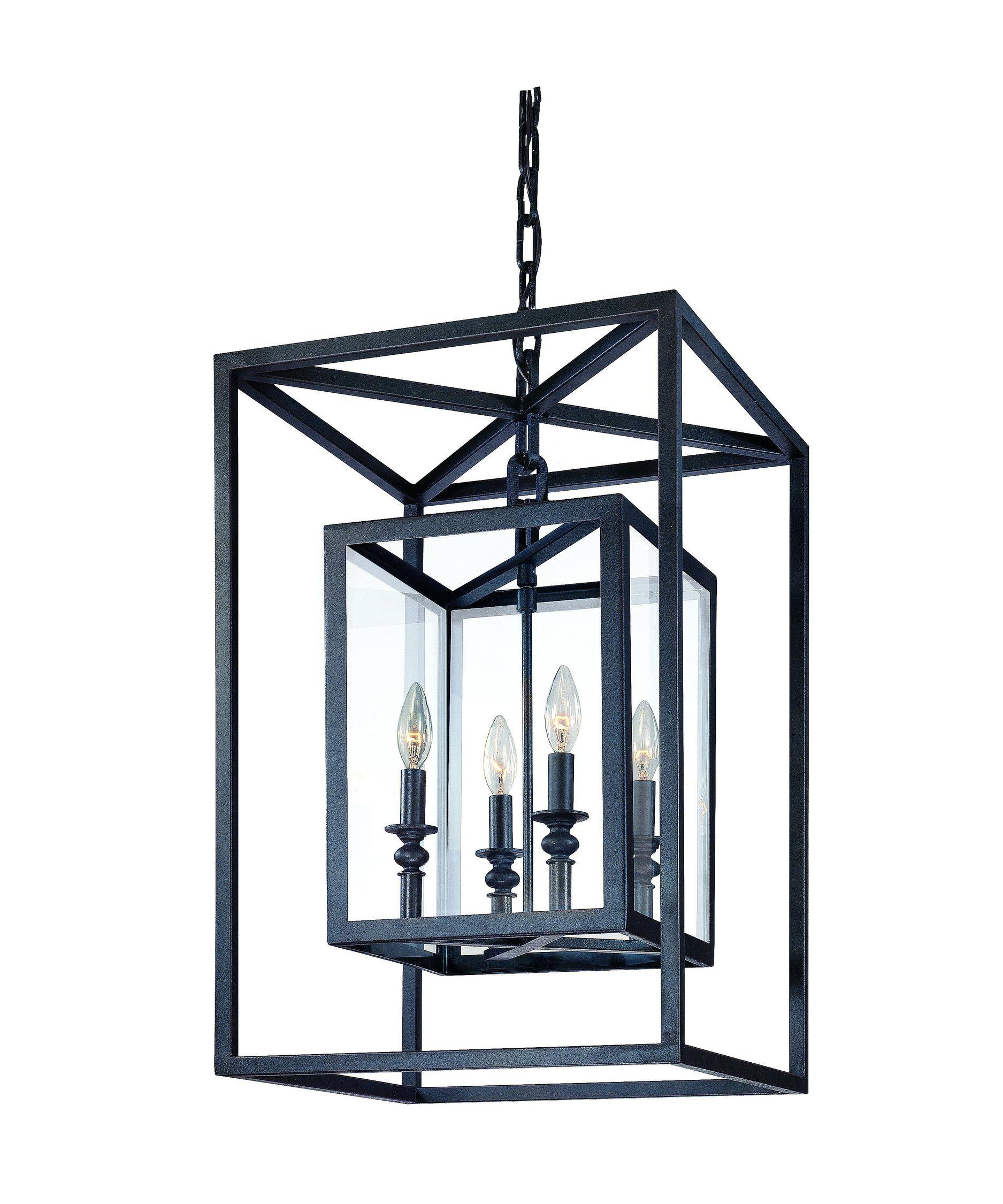 Troy Lighting F9994 Morgan 16 Inch Wide Foyer Pendant | Capitol Intended For Foyer Pendant Light Fixtures (View 9 of 15)