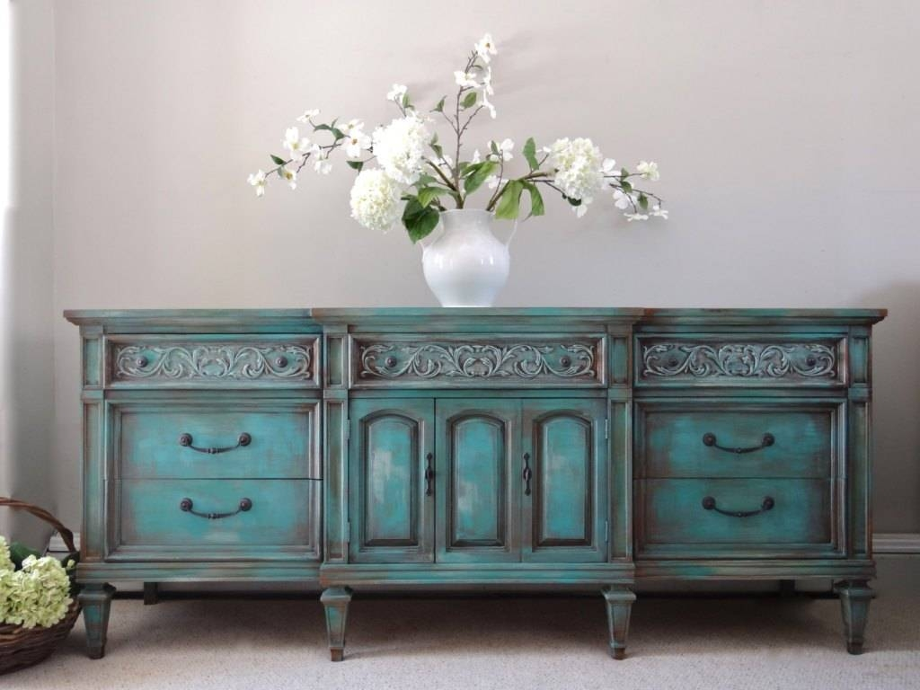 Turquoise Sideboard Interior Design — Rocket Uncle Rocket Uncle Pertaining To Turquoise Sideboards (View 10 of 15)