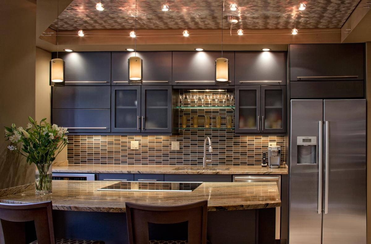Featured Photo of Kitchen Track Pendant Lighting