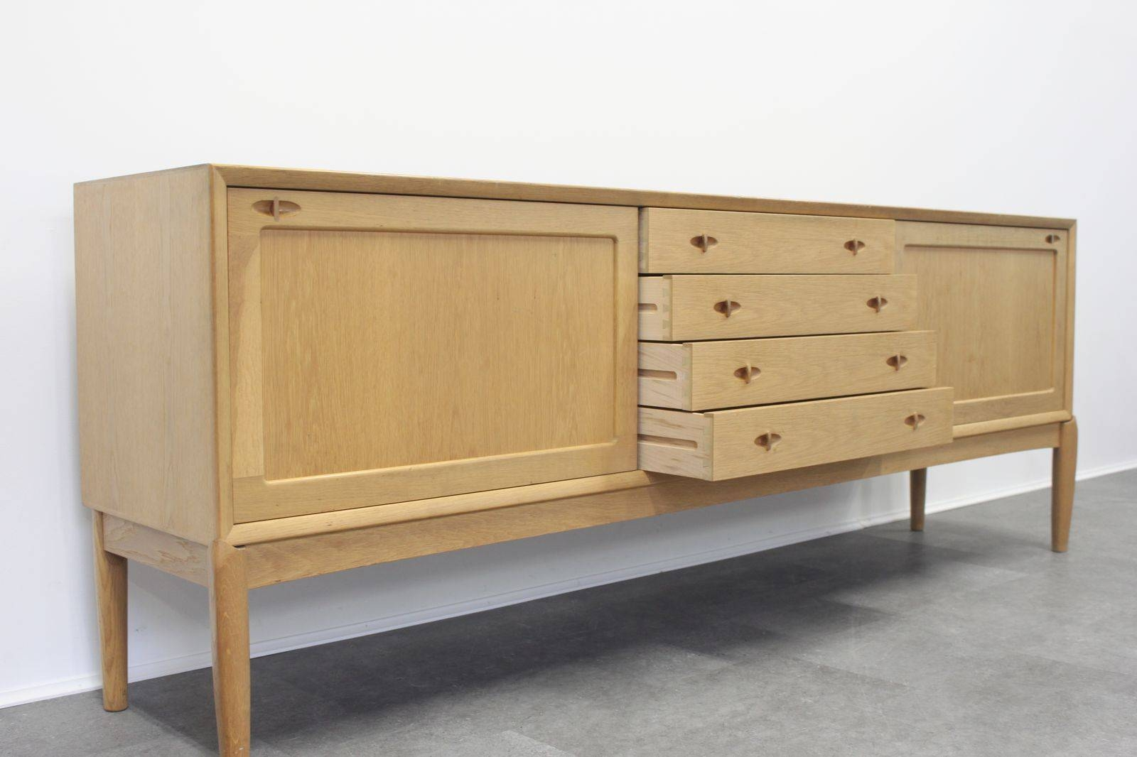 Vintage Oak Sideboardh.w. Klein For Bramin For Sale At Pamono with regard to Antique Oak Sideboards (Image 15 of 15)