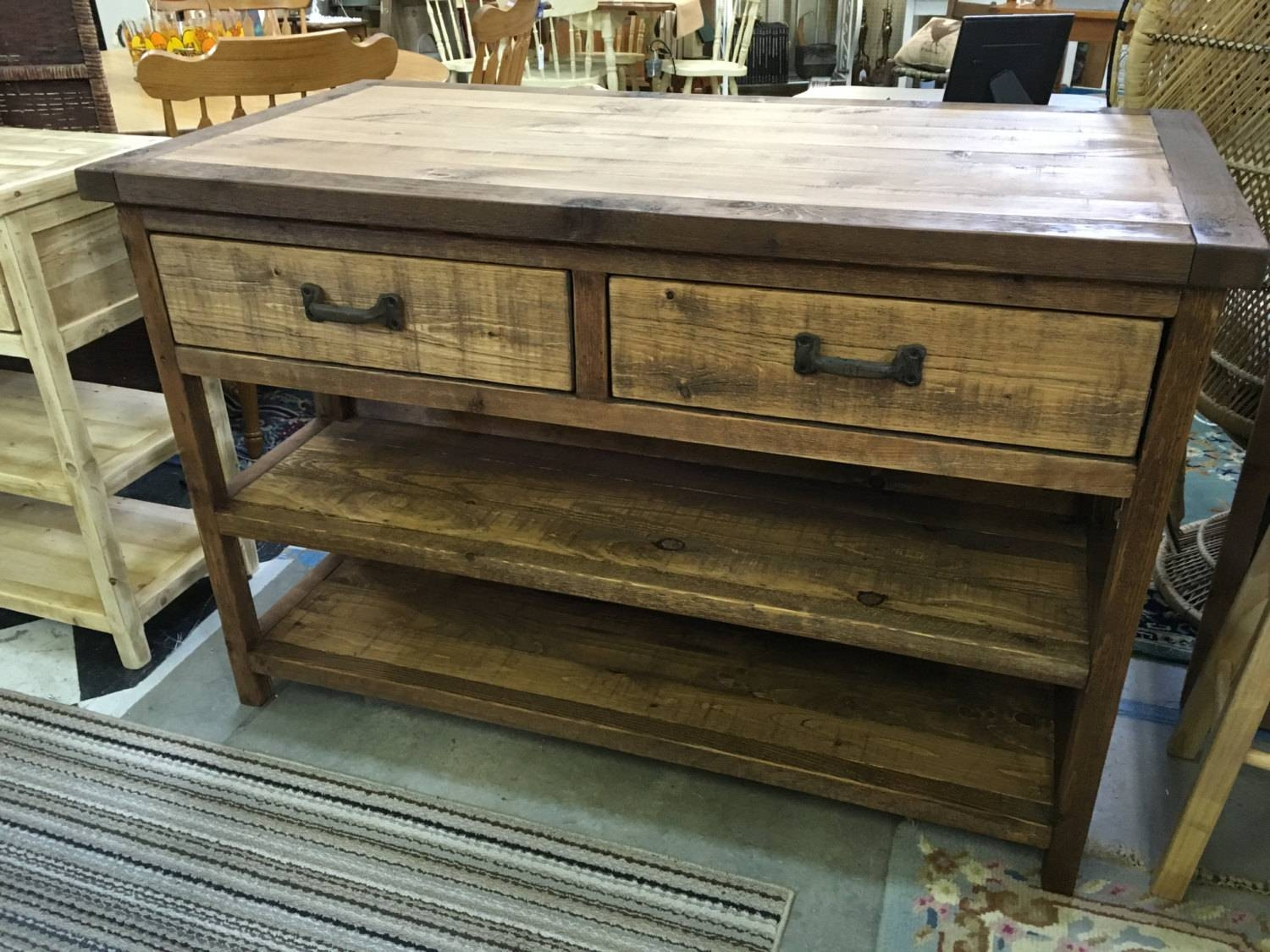 Vintage Outdoor Sideboard — The Homy Design : Pine Outdoor With Regard To Outdoor Sideboard Tables (View 11 of 15)