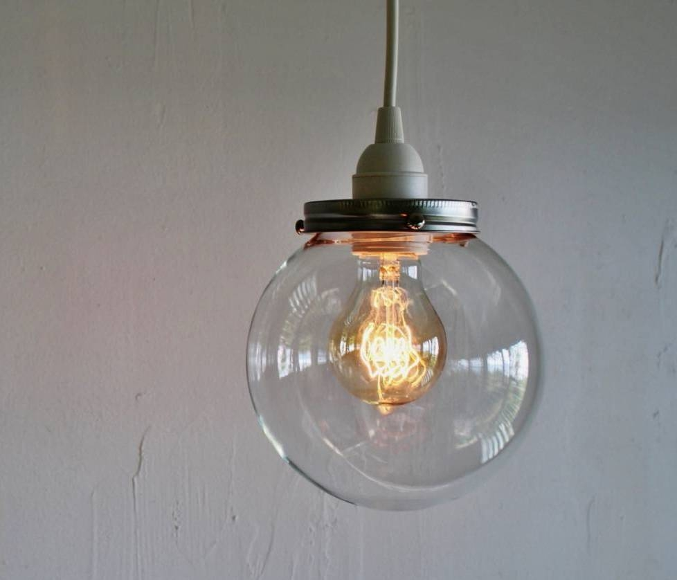 Vintage Pendant Lighting Ebay In Picture Lighting Design Rate within Round Glass Pendant Lights (Image 14 of 15)