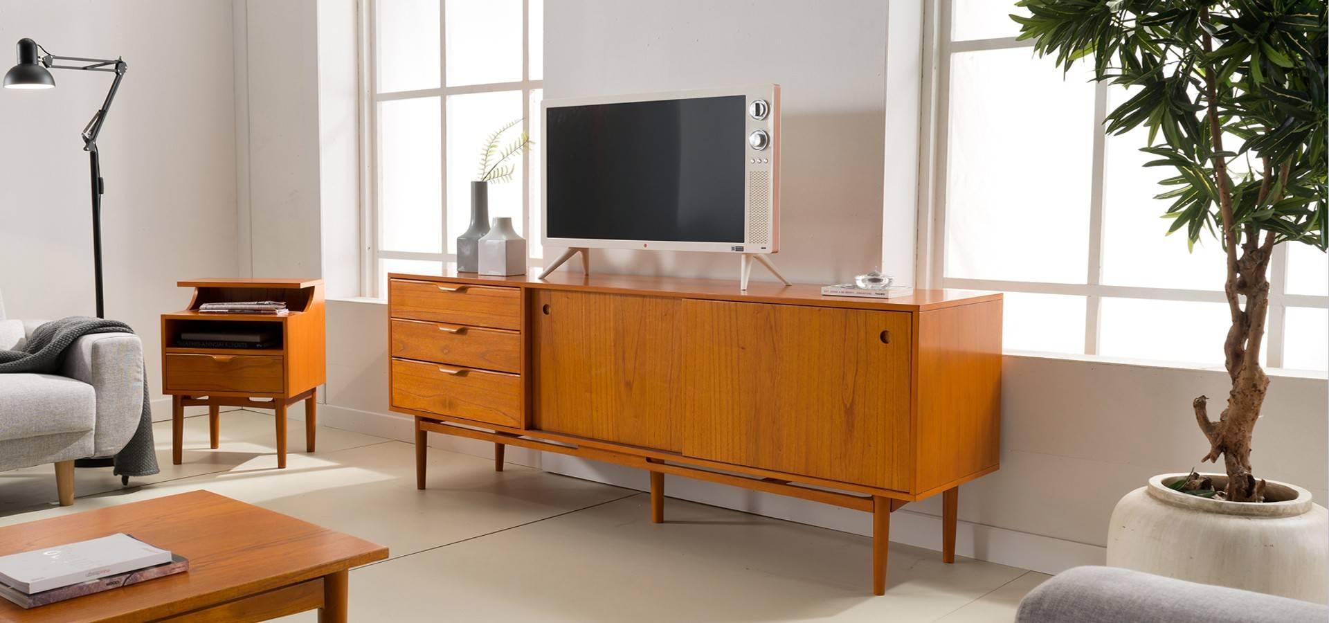 Vintage Sideboard (Tv Cabinet) - Vintage Danish - Series intended for Danish Retro Sideboards (Image 15 of 15)