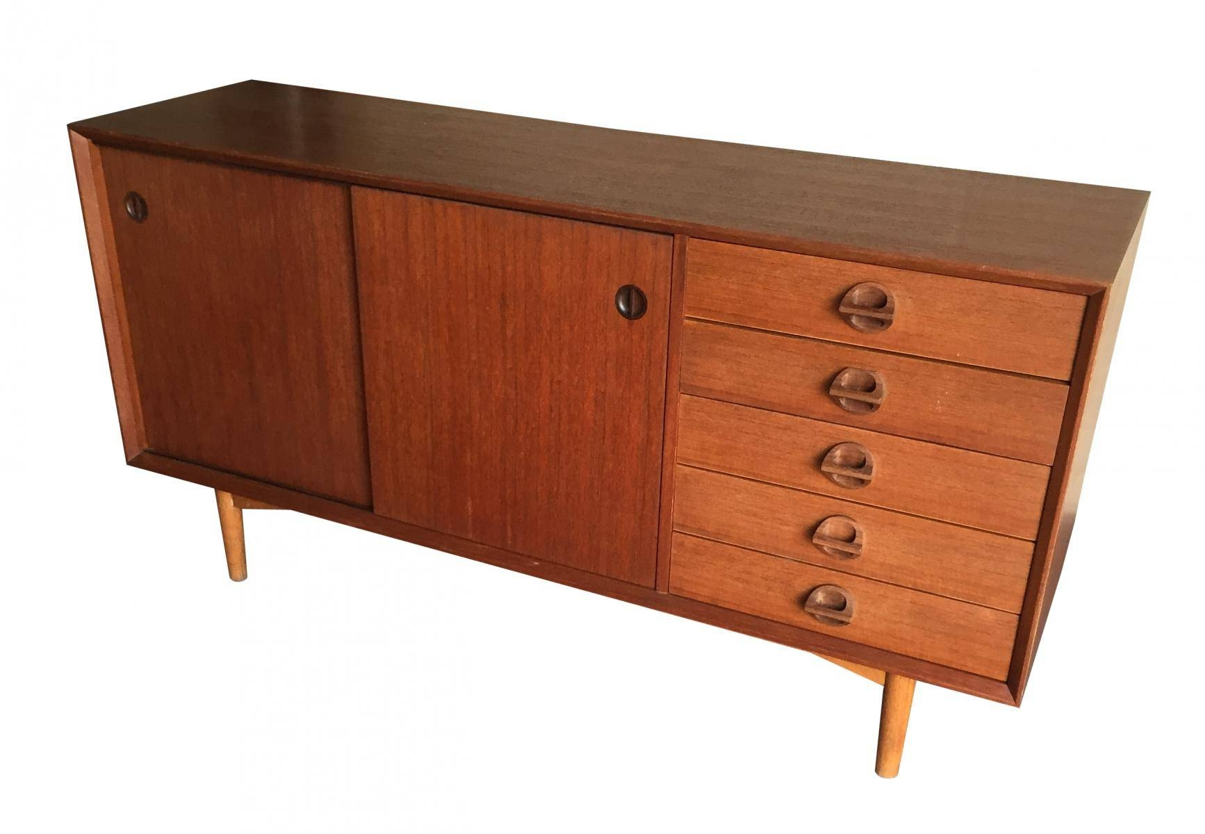 Vintage Sideboard With Sliding Doors, 1960s For Sale At Pamono For 50 Inch Sideboards (View 15 of 15)