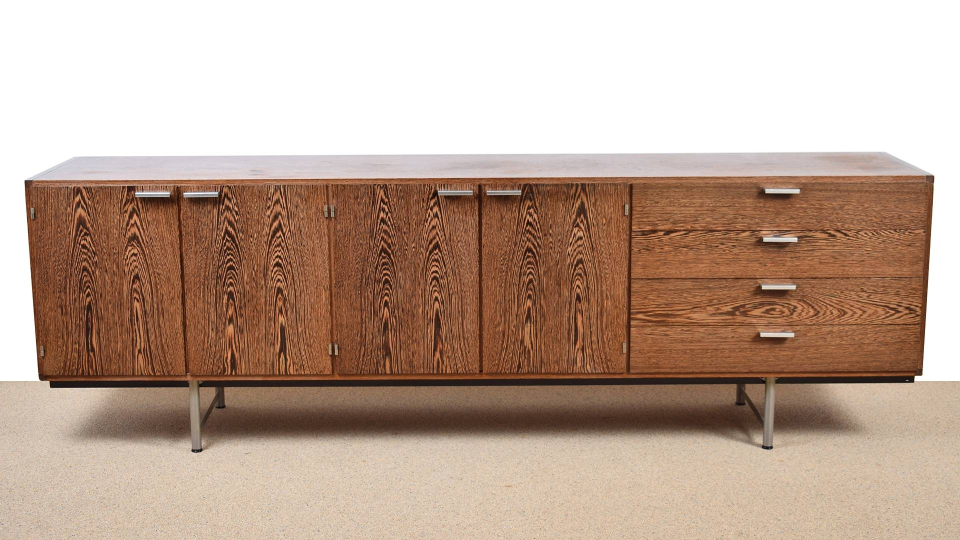 Wengé Sideboardcees Braakman For Pastoe, 1960S For Sale At Pamono with Wenge Sideboards (Image 15 of 15)