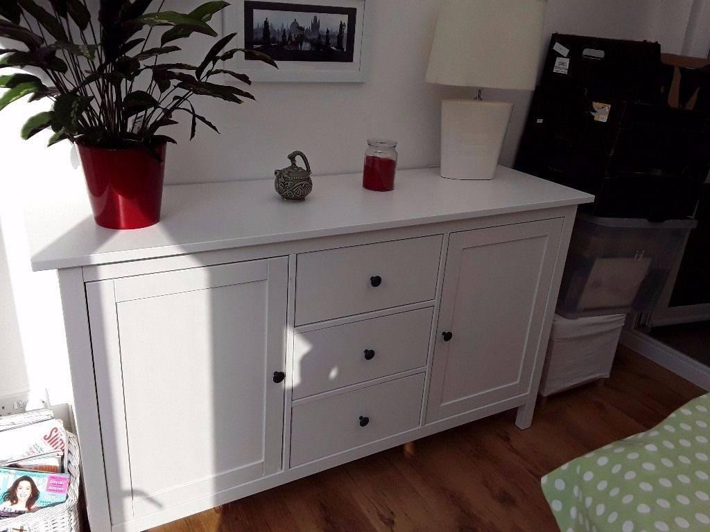 White Ikea Hemnes Sideboard As New Great Furniture | In Hull, East Inside Hemnes Sideboards (View 7 of 15)