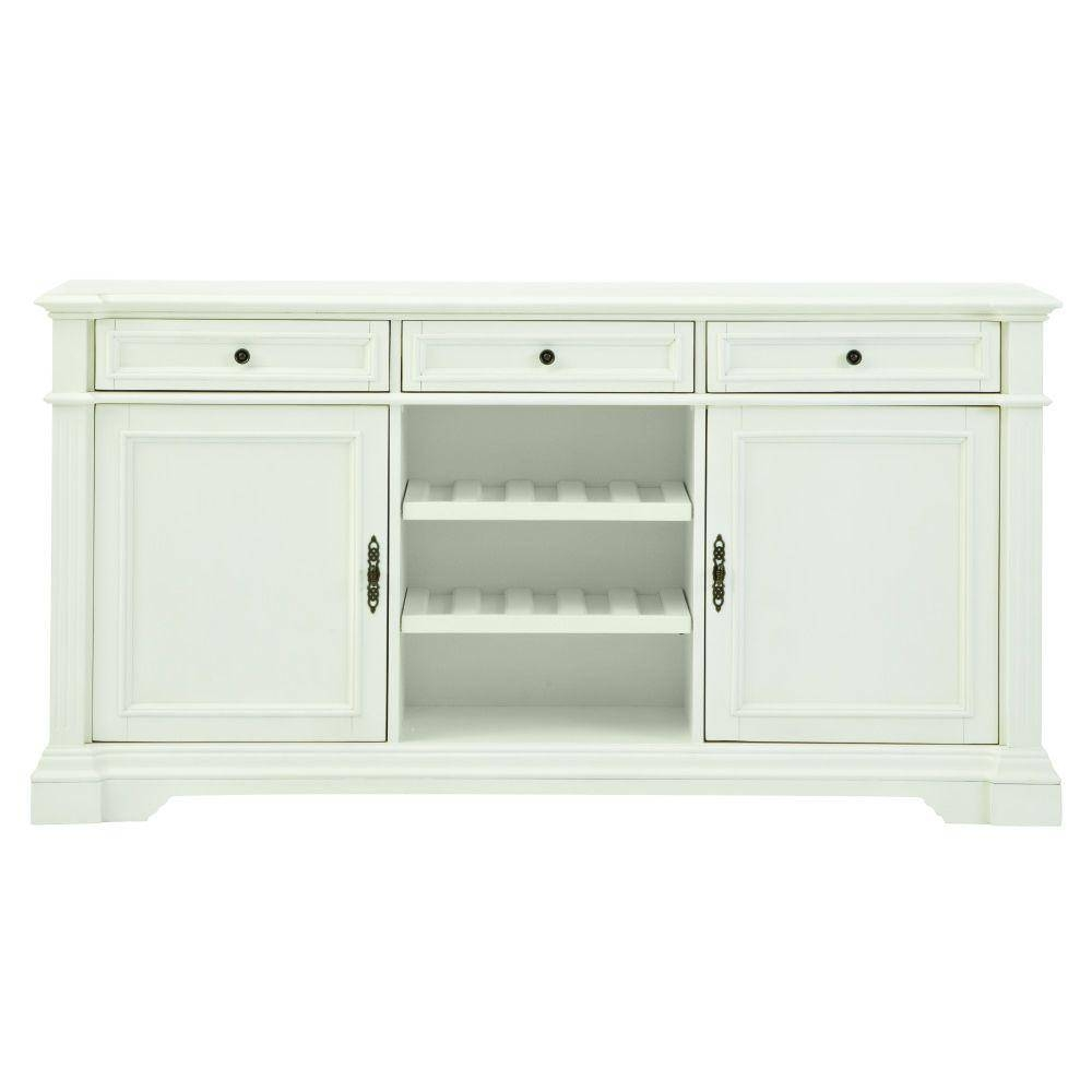 White – Sideboards & Buffets – Kitchen & Dining Room Furniture Inside White Buffet Sideboards (View 8 of 15)