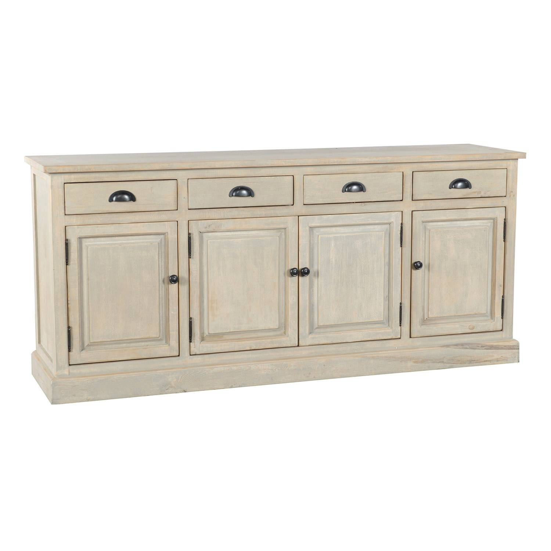Wilson Reclaimed Wood 79-Inch Sideboardkosas Home - Free in 14 Inch Deep Sideboards (Image 14 of 15)