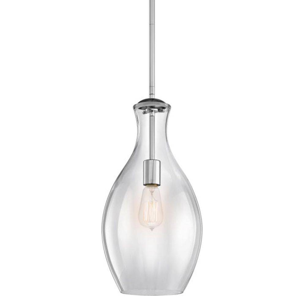Zoom Clear Glass Mini Pendant Light Kichler Lighting Teardrop In With Clear Glass Mini Pendant Lights (View 7 of 15)